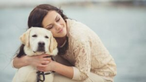 Saber si a mi perro le gustan los abrazos